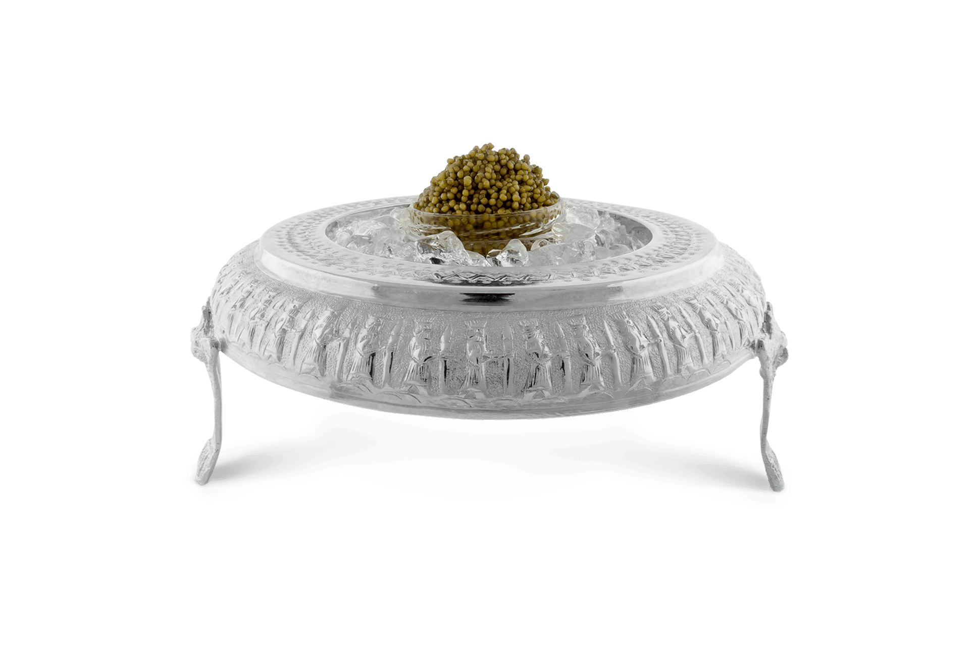 Sterling Silver Caviar Bowl